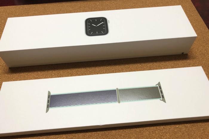 Apple Watch Series5開封