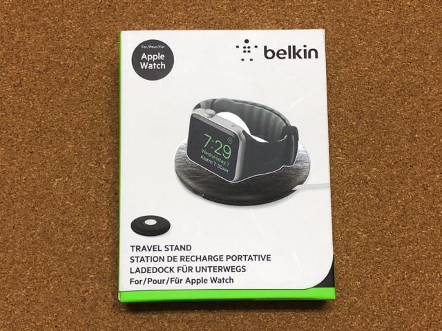 Belkin充電スタンドの箱