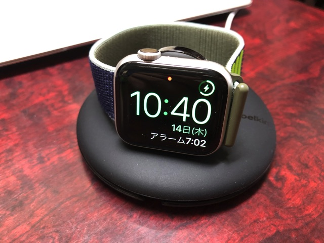 Apple Watchを充電