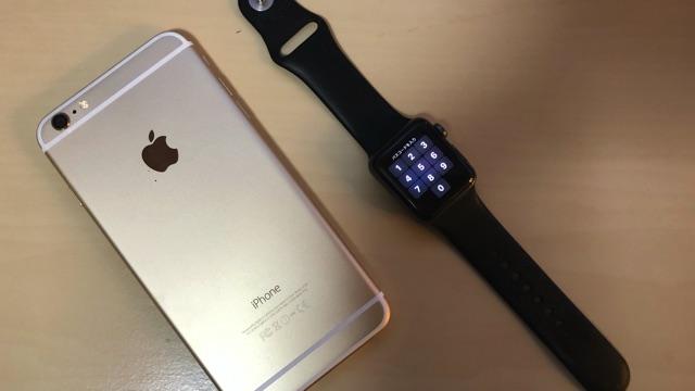 Apple WatchとiPhoneは近づけておく