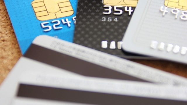 カードの使用履歴などをチェック