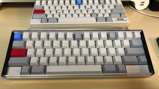HHKBにキーボードルーフを装着