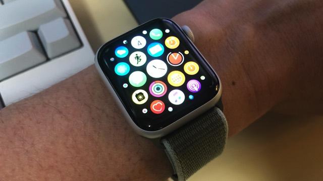 Apple Watchのホーム画面