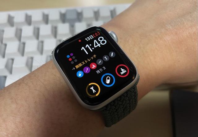 Apple Watchと好相性