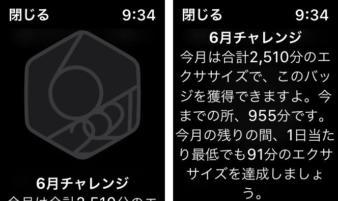 「6月チャレンジ」